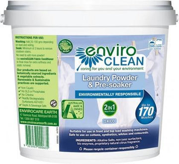 Enviro Care Laundry Powder Pre-Soaker 5Kg New