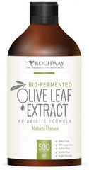 Rochway Bio-Fermented Olive Leaf Extract Probiotic Formula Natural G/F 500ml-Health Tree Australia