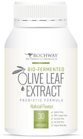 Rochway Olive Leaf Extract w/MultiplyPlus 30caps-Health Tree Australia