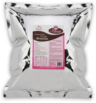 Melindas Choc Fudge Brownie G/F Pre-Mix 3Kg-Health Tree Australia