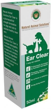 Natural Animal Solutions Ear Clear 50ml-Health Tree Australia