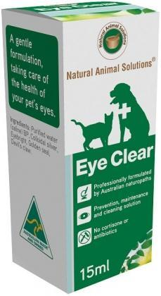 Natural Animal Solutions Eye Clear 15ml-Health Tree Australia