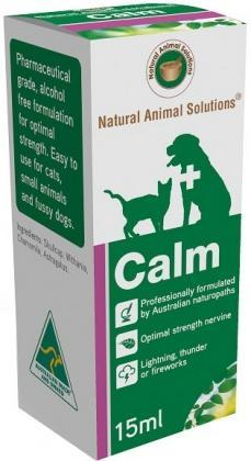 Natural Animal Solutions Calm 15ml-Health Tree Australia