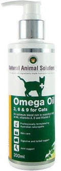 Natural Animal Solutions OmegaOil 3,6&9 Cats 200ml