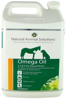 Natural Animal Solutions Omega Oil Dogs/Horse 5L-Health Tree Australia