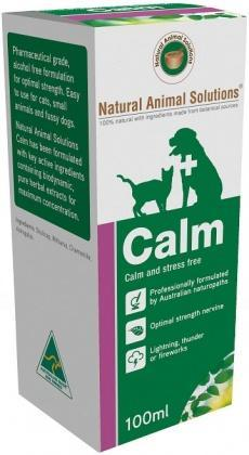 Natural Animal Solutions Calm 100ml-Health Tree Australia