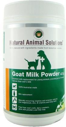 Natural Animal Solutions Goat Milk Powder 400g-Health Tree Australia