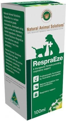 Natural Animal Solutions RespraEze 100ml-Health Tree Australia