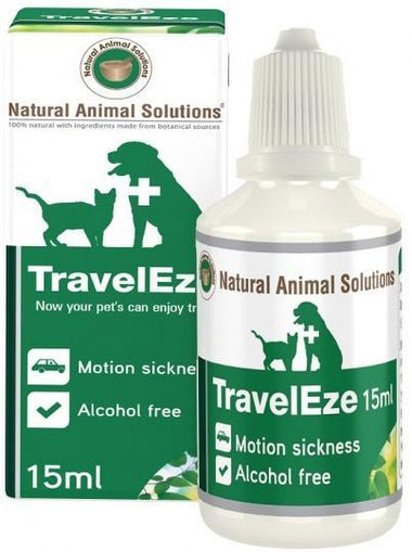 Natural Animal Solutions TravelEze 15ml-Health Tree Australia