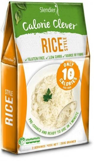Slendier Calorie Clever Rice Style Gluten Free 400g-Health Tree Australia