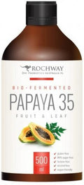Rochway Bio-Fermented Papaya 35 Fruit & Leaf G/F 500ml
