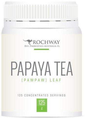 Rochway Dried Paw Paw Leaf Tea 125gm-Health Tree Australia
