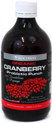 Rochway Organic Cranberry w/MultiplyPlus G/F 500ml-Health Tree Australia
