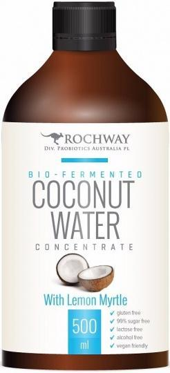 Rochway Bio-Fermented Coconut Water with Lemon Myrtle G/F 500ml-Health Tree Australia