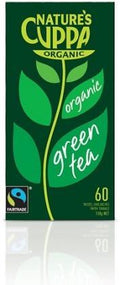 Natures Cuppa Org Green 60 Teabags 20%Extra