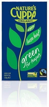Natures Cuppa Org Green Loose Leaf Tea 125g-Health Tree Australia