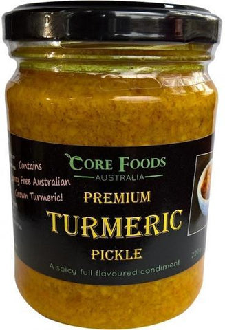Core Foods Australia Premium Turmeric Pickle 220g-Health Tree Australia