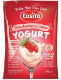 Easiyo Strawberries & Cream Yogurt 240g-Health Tree Australia