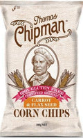 Thomas Chipman Organic Carrot & Flaxseed Corn Chips G/F 200g