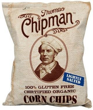 Thomas Chipman Org Low Salt Corn Chips G/F 230g-Health Tree Australia