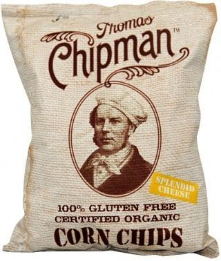 Thomas Chipman Org Cheese Corn Chips G/F 230g