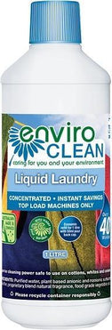 Enviro Care Liquid Laundry Top Load 1L New