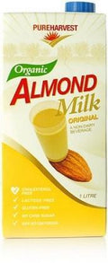Pure Harvest Organic Activated Almond Milk Original 1ltr