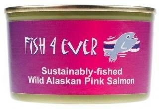 Fish 4 Ever Pink Salmon (Bones) 213g-Health Tree Australia