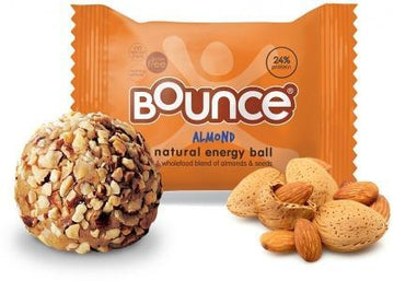 Bounce Almond Protein Balls G/F 12x40g