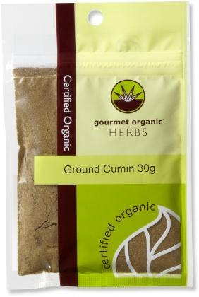 Gourmet Organic Cumin Ground 30g sachet x 1-Health Tree Australia