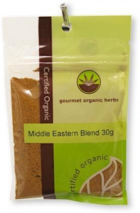 Gourmet Organic Middle Eastern Blend 30g Sachet-Health Tree Australia