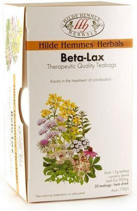 Hilde Hemmes Beta-Lax - 30 Teabags-Health Tree Australia