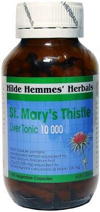 Hilde Hemmes St Marys Thistle 10,000mg x 120caps-Health Tree Australia