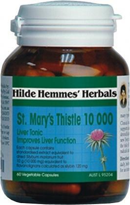 Hilde Hemmes St Marys Thistle 10,000mg x 60caps-Health Tree Australia