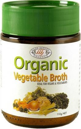 Hilde Hemmes Organic Vegetable Broth 110gm-Health Tree Australia
