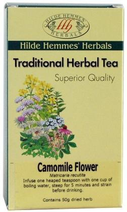 Hilde Hemmes Camomile Flower 50gm-Health Tree Australia