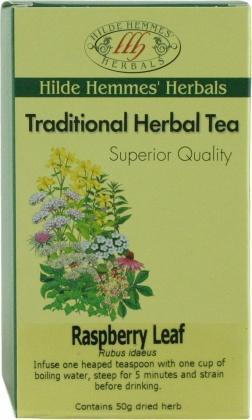 Hilde Hemmes Raspberry Leaf 50gm-Health Tree Australia