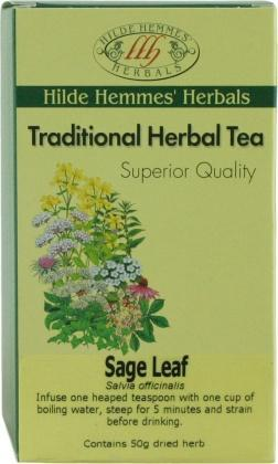 Hilde Hemmes Sage Leaf 50gm-Health Tree Australia