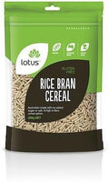 Lotus Rice Bran Cereal G/F 400g