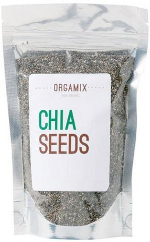 Orgamix Natural Chia Seeds Black G/F 250g-Health Tree Australia
