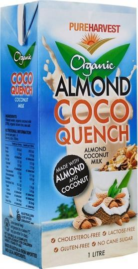 Pure Harvest Organic Almond Coconut Quench Milk G/F 1L