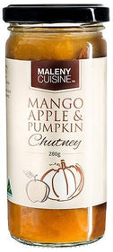 Maleny Cuisine Mango Apple & Pumpkin Chutney 280gm-Health Tree Australia