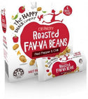 The Happy Snack Company Roasted Broadbeans Red Pepper & Chilli 6x25g Box-Health Tree Australia