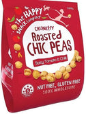 The Happy Snack Company Roasted Chickpeas Spicy Tomato & Chilli 200g Bag-Health Tree Australia