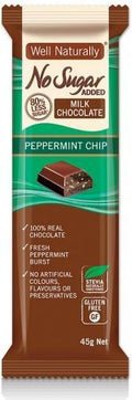 Well,naturally NAS Peppermint Crisp Milk Chocolate Bar 16x45g