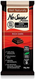 Well,naturally S/F Rich Dark Chocolate Block G/F 12x90g
