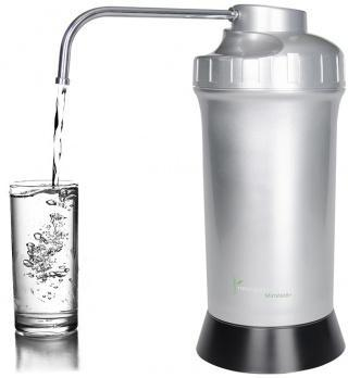 Naturopaths Choice Bench Top Water Filter Silver/Black-Health Tree Australia
