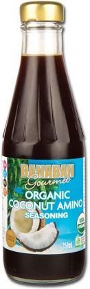 Banaban Coconut Aminos Seasoning Organic350ml (Glass)-Health Tree Australia