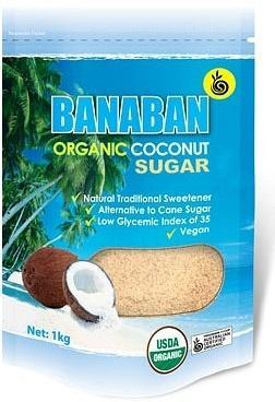 Banaban Organic Coconut Sugar 1Kg-Health Tree Australia