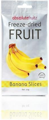 Absolute Fruitz Freeze Dried Banana Slices 20g - Health Tree Australia